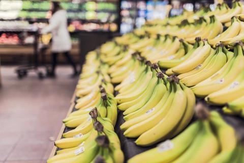 בננות בסופרמרקט