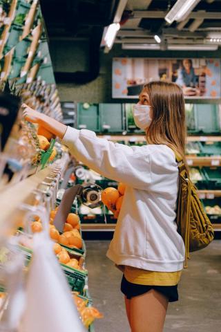 פירות בסופרמרקט