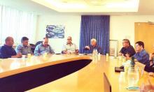 פגישת ראשי הארגונים